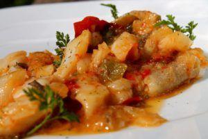 Bacalao a la siciliana