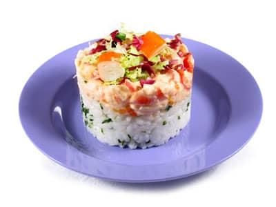 Cubito de arroz