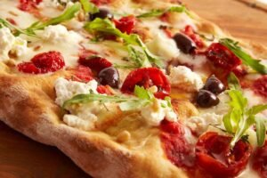 Pizza alargada