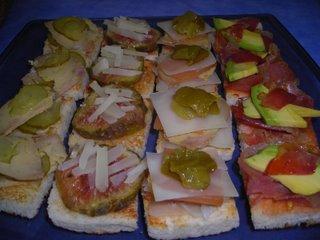 canapes-sobre-tortilla
