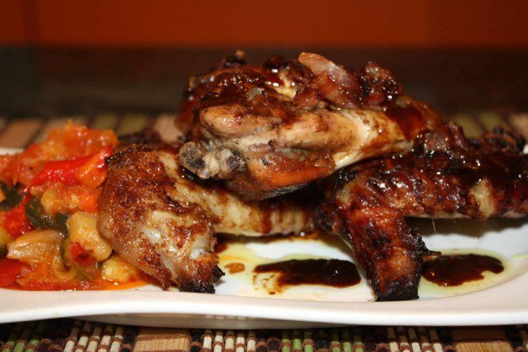 Alitas de pollo crujientes