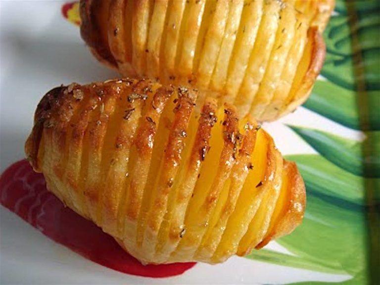 Patatas rajadas al horno