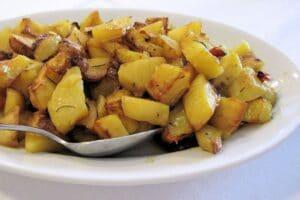 patatas al especiales al horno