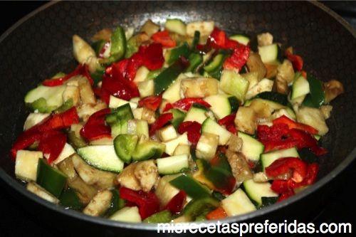 Sobrito verduras