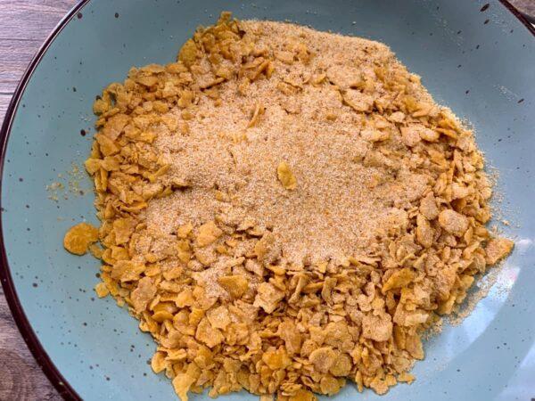 Cereales con pan rallado