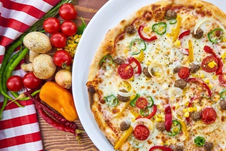 Pizza pimientos
