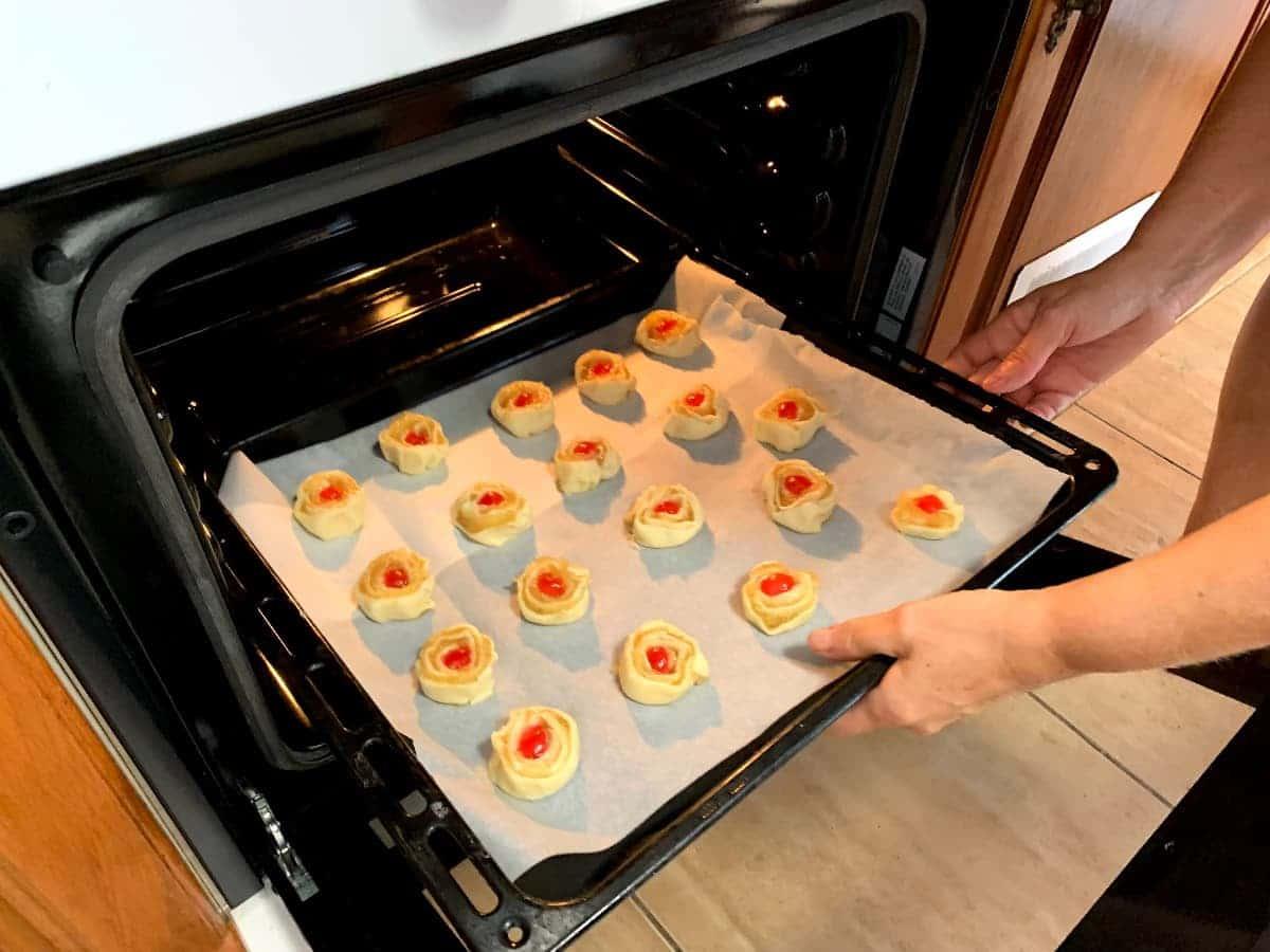 Introducir en el horno