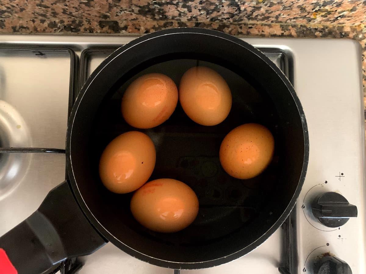 Hervir huevos