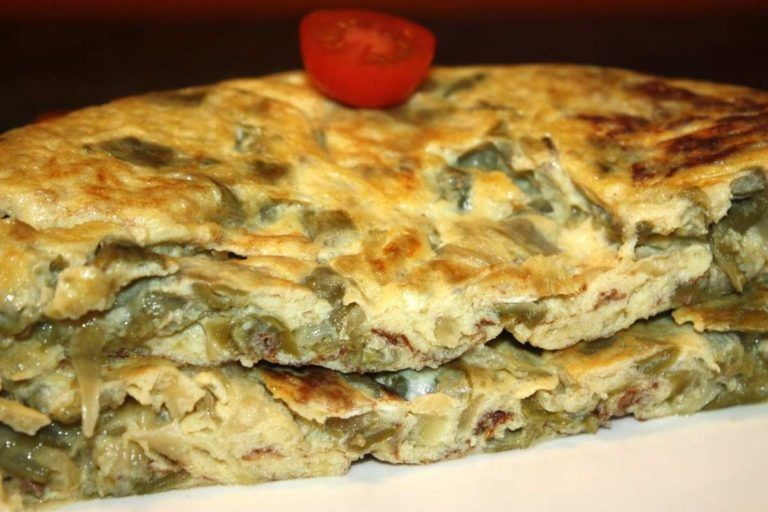 Tortilla de habichuelas