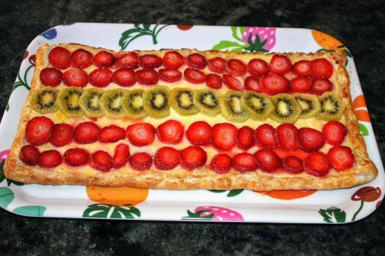 tarta fruta
