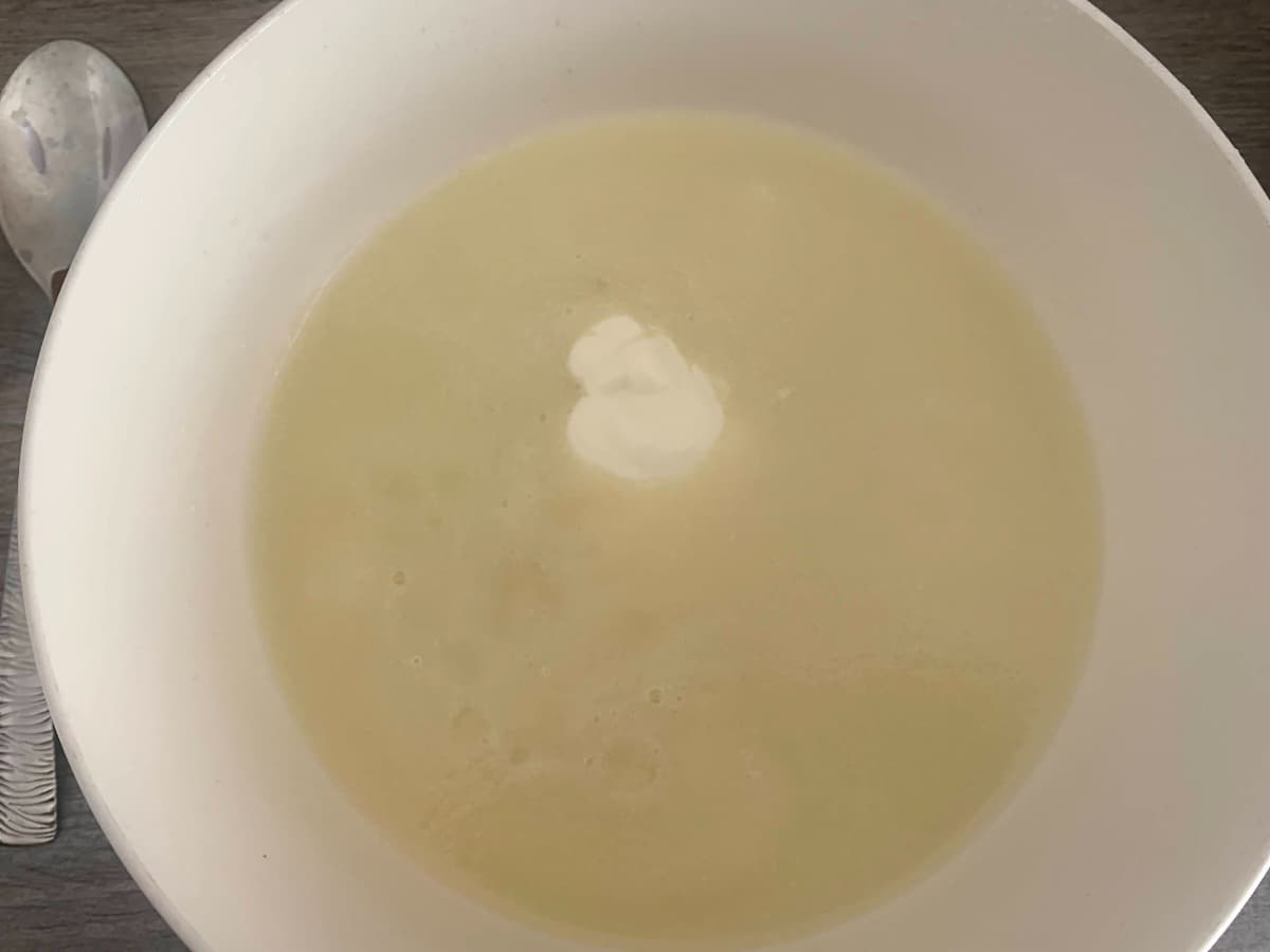 sopa melón