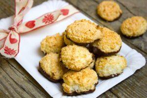 Pastelitos coco y chocolate