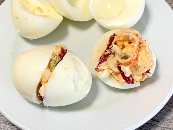 Huevos rellenados