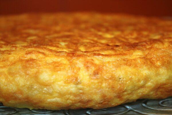 Tortilla patatas hecha
