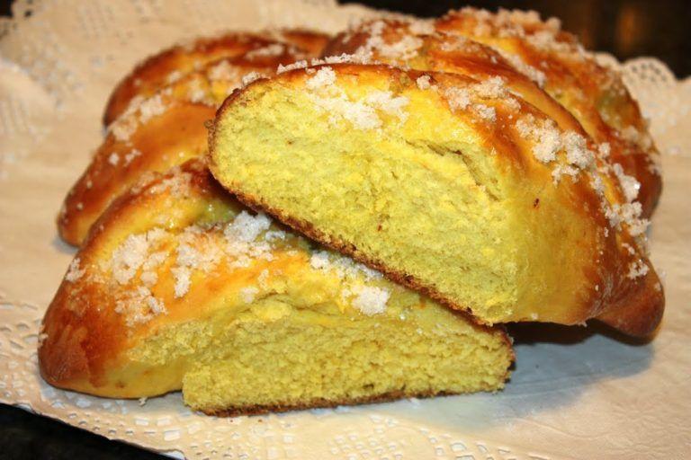 Pan dulce de anis y azafran