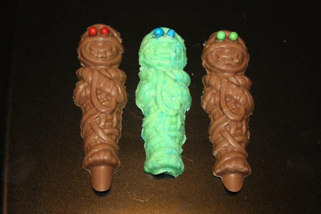 Chocolatinas sorpresa de hallowen