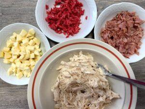Ingredientes preparación papas locas canarias