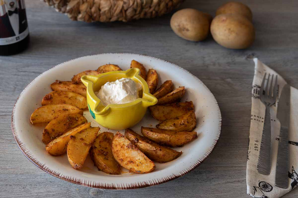 Patatas de luxe al horno