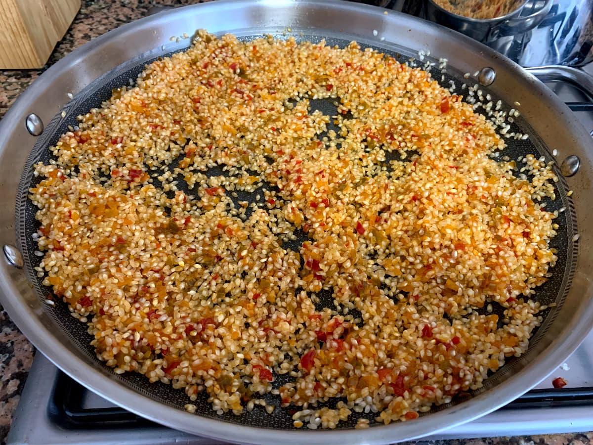 rehogar arroz